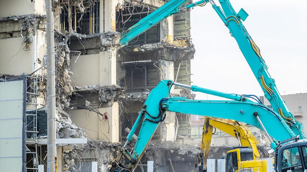 鉄骨住宅の解体