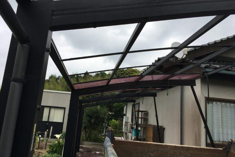 松江市の解体業者は解体堂|カーポート解体|駐車場工事|島根