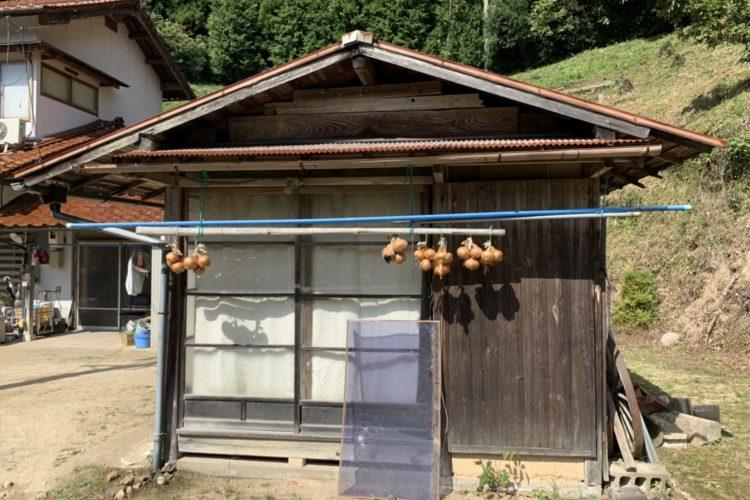 【島根県雲南市P様】木造納屋の取り壊し工事