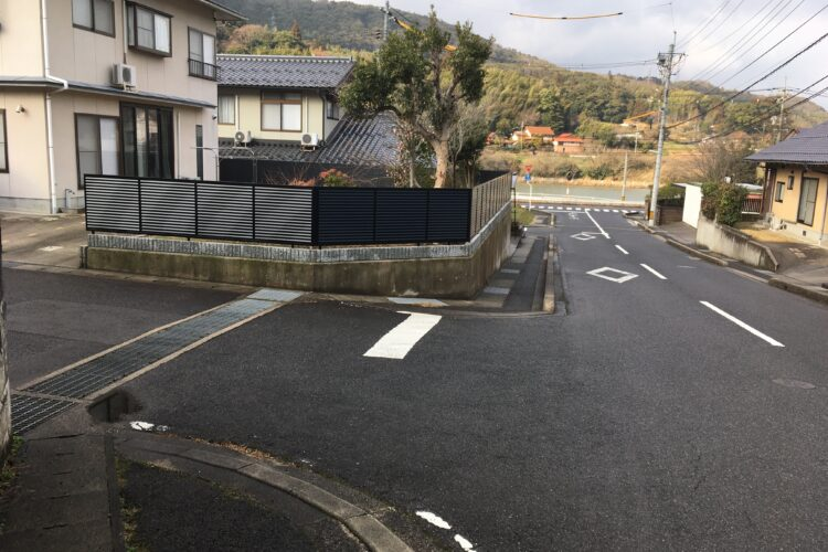 【島根県松江市O様】フェンスの外構エクステリア工事
