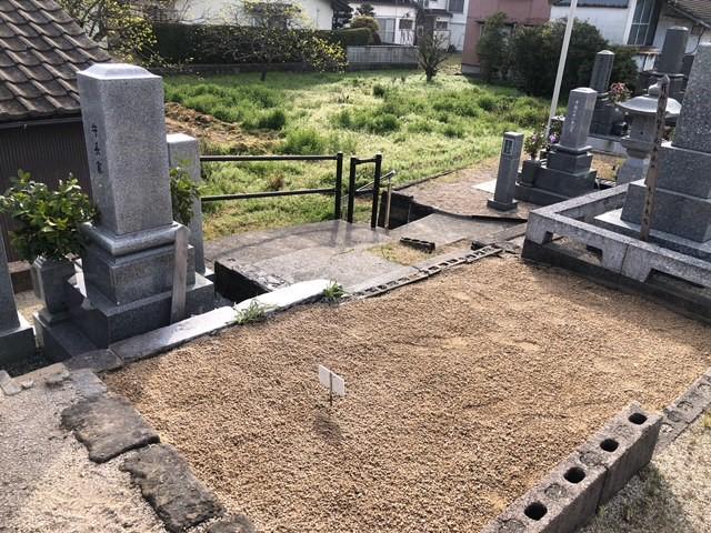 【島根県出雲市S様宅】お墓の引越しに伴う墓じまい