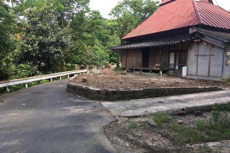 【島根県松江市U様】倒壊家屋の解体工事